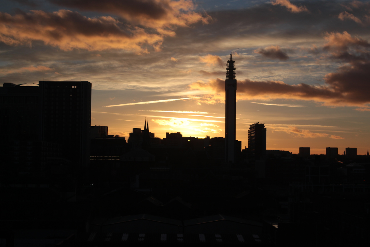 Birmingham Streaky Sunset