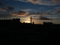 Birmingham Skyline Sunset