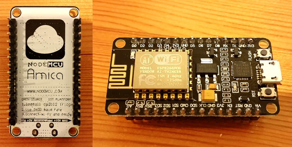 Getting started with a NodeMcu | Things and Stuff